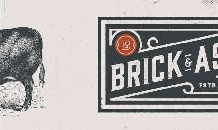 Brick and Ash logo