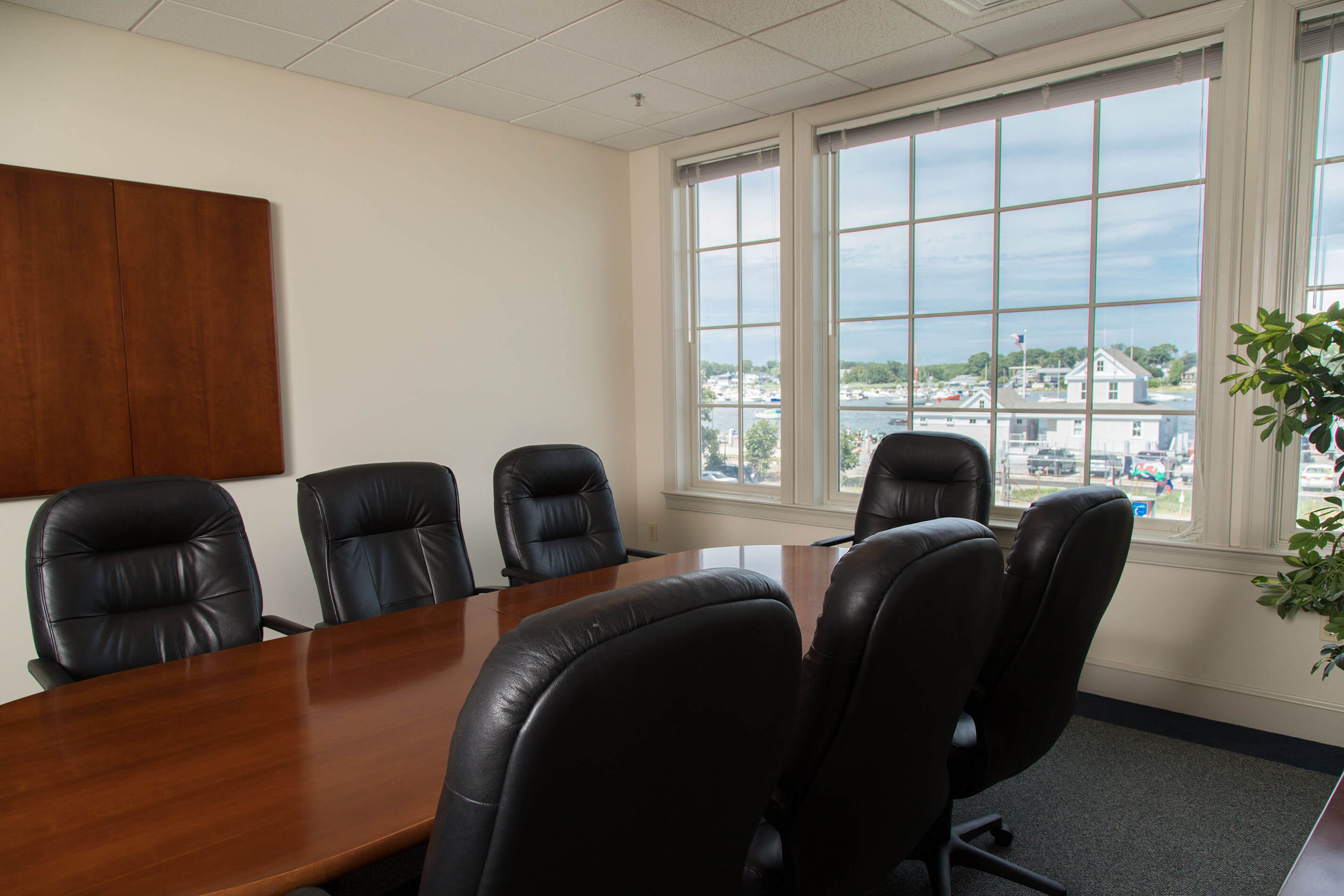 board room with view